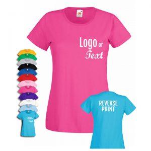 ladiespersonalisedtshirt