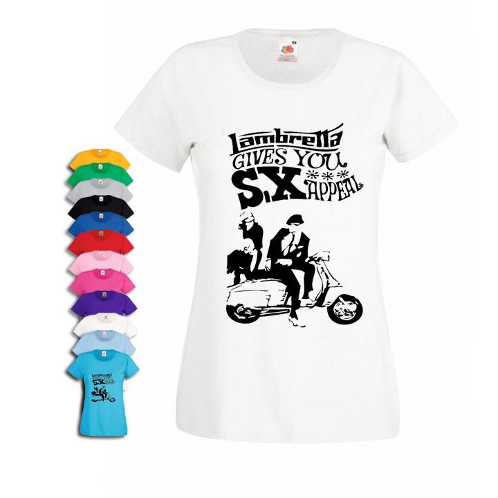Northern Soul Lambretta inspired womens fit T-shirt - Cheap and ... 0b4332282
